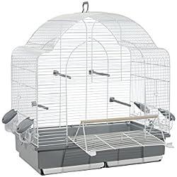VOLTREGA 001653B Jaula para Pájaros Agapornis