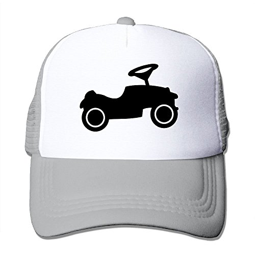 Baby Car Big Foam Trucker Baseball Cap Mesh Back Adjustable Cap Ash