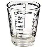 KitchenCraft 50 ml Glass Mini Measures (1-Pack)