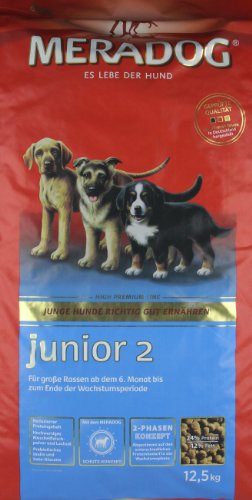 Mera Dog Junior 2, 1er Pack (1 x 12.5 kg)
