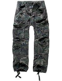 Brandit Pure Pantalones Vintage Pantalón Cargo De Hombre - woodland, 7XL