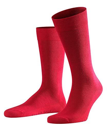 FALKE Herren Socken Family - 94% Baumwolle, 1 Paar, Rot (Scarlet 8280), Größe: 39-42