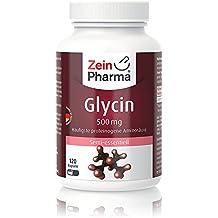 Cápsulas de Glicina 500mg de ZeinPharma • 120 cápsulas (2 meses de suministro) •