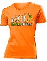 Sport - HANDBALL EVOLUTION - Cooles Fun T-Shirt Femme Small - XX-Large