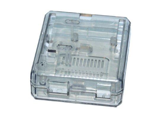 4111ME JmcL - SB Components Uno R3 case Clear - Caja para Arduino Uno R3, transparente