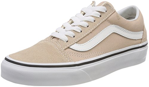 Vans Damen Old Skool Sneaker, Beige (Frappe/True White Q9x), 43 EU