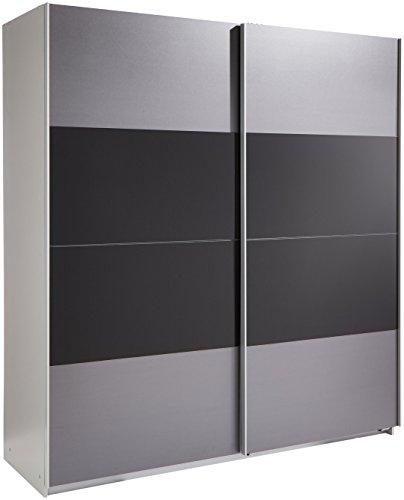 Wimex Kleiderschrank/Schwebetürenschrank Enter, (B/H/T) 180 x 198 x 64 cm, Schwarz