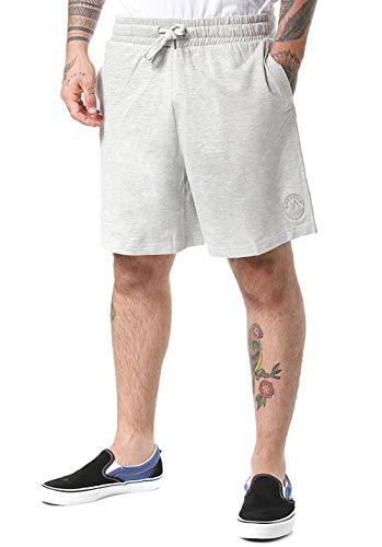 Lakeville Mountain Herren-Shorts Laredo | Kurze Hose für Herren | Coole Hose mit elastischem Bund (Grau, XL)