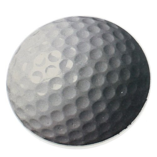 Golf Ball Auto Coaster, Single Coaster for Your Car by Highland Graphics by Creative Ventures