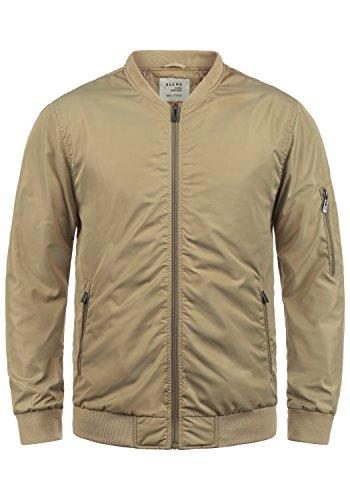 Blend Craz Herren Bomberjacke Übergangsjacke Jacke Mit Stehkragen, Größe:M, Farbe:Safari Brown (75115)