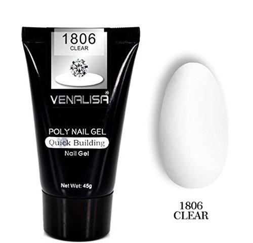 Vénalisa - Gel uñas transparente transparente fibra
