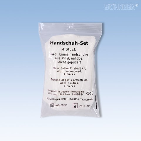 Söhngen 1010073 Handschuh-Set, weiß