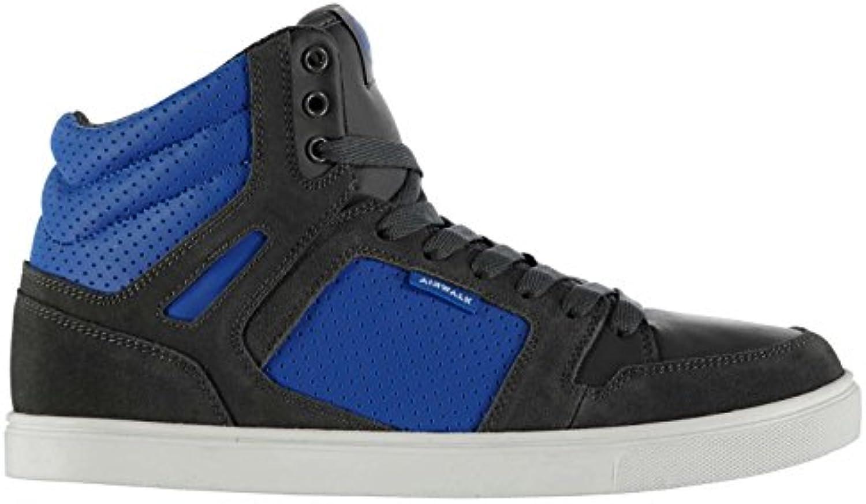 Original Shoes Airwalk Herren Hi Top Sneakers  Schuhe  Grau/Blau  Skaten