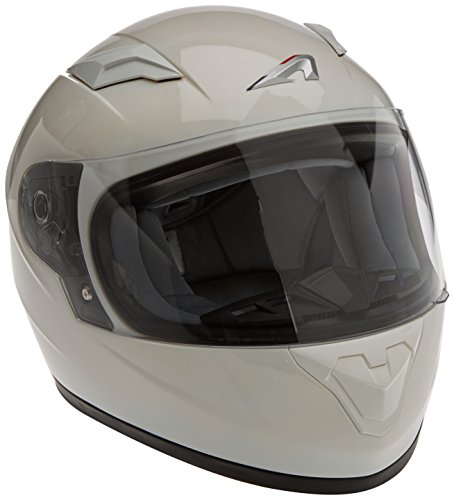 Astone Helmets gt2 km-whl casco Moto Integral GT Kid Gloss, Color blanco brillante, talla L