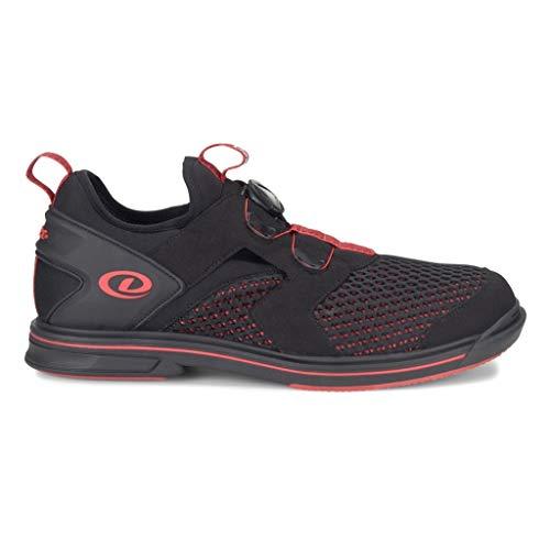 Dexter Red Schuhe (Dexter Herren Pro BOA Bowlingschuhe, Schwarz/Rot, 8 M)