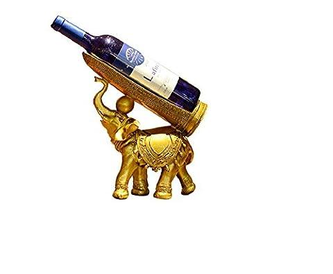 xiuxiamdiamju Casier à vin éléphant de style européen