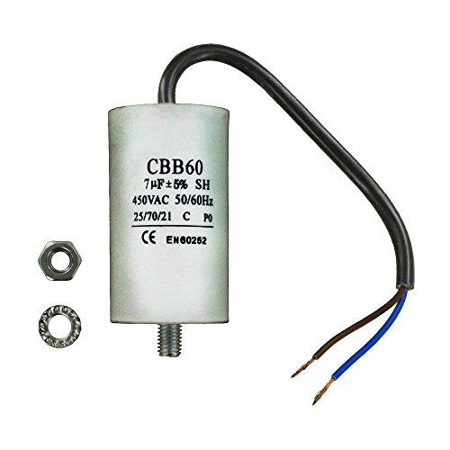 Maddocks 11-ca-07 C condensateur universel avec câble Connecteurs, 19 cm