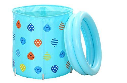 Bad Tubs Adult Tubs Kinderbäder können Falten Tubs ( farbe : Blau )