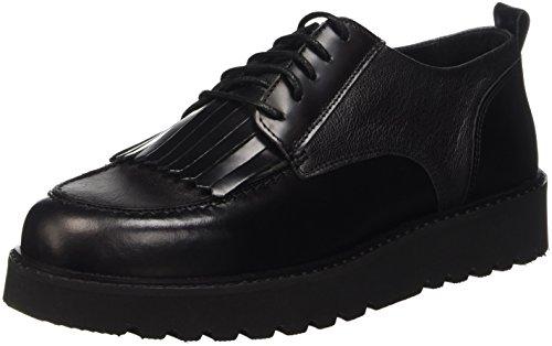 Trussardi Jeans 79S27351, Derby Donna, Nero, 37 EU