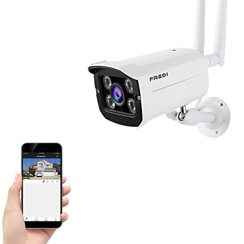 FREDI WiFi Telecamera IP Bullet Camera HD Wifi...