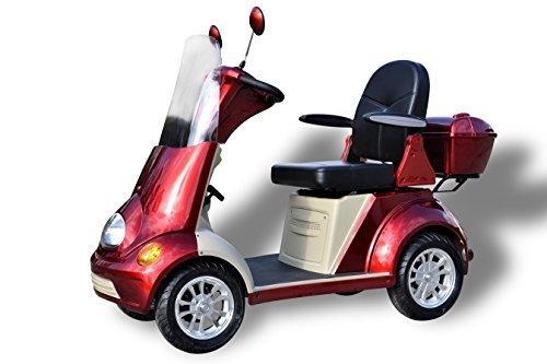 Senioren mobil 4 Rad Scooter 6 km/h Elektromobil eScooter Seniorenmobil Seniorenfahrzeug Elektrowagen Elektrofahrzeuge für Senioren