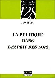 La politique dans l'Esprit des lois