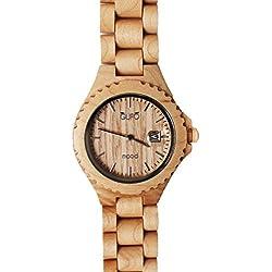 GUFO Italien Mood Holz Armbanduhr