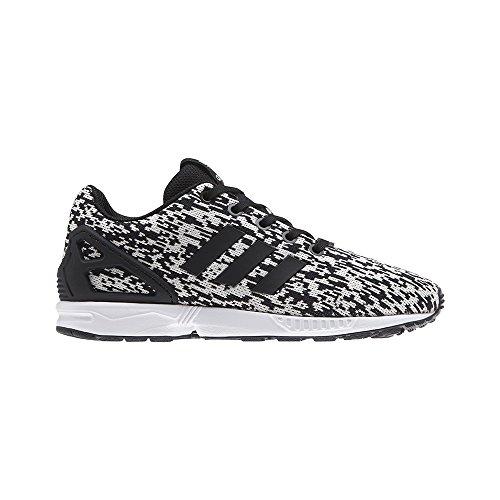 adidas Zx Flux J, Chaussures de Gymnastique Mixte Enfant Multicolore (Core Black/core Black/ftwr White)