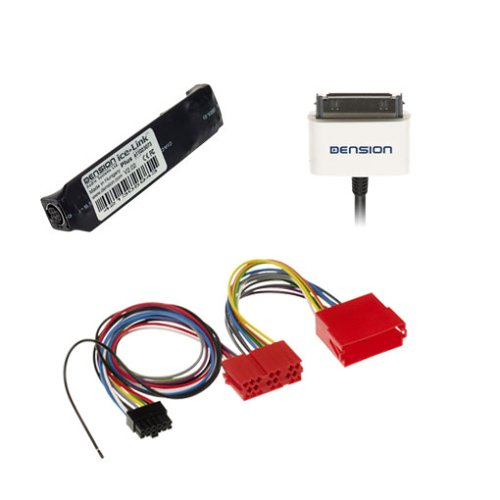 Icelink Plus Car Kit inkl. Dock Cable für Apple iPod Mini, Apple iPod 3./4. Gen, Photo - Audi, Lamborghini, Seat, Skoda