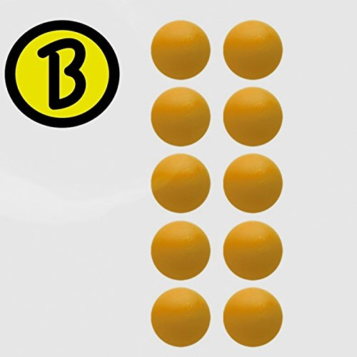 Preisvergleich Produktbild 10 Stück Bärenherz Magic Ball Generation 2, soft, orange D: 34,8 mm ca. 20 g