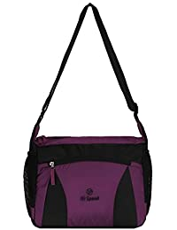 Hi-Speed Shoulder Sling Bag Purple | Cross Body Travelers Sling Bag | Coaching,School Bag,Book Bag Turquoise Multipurpose...