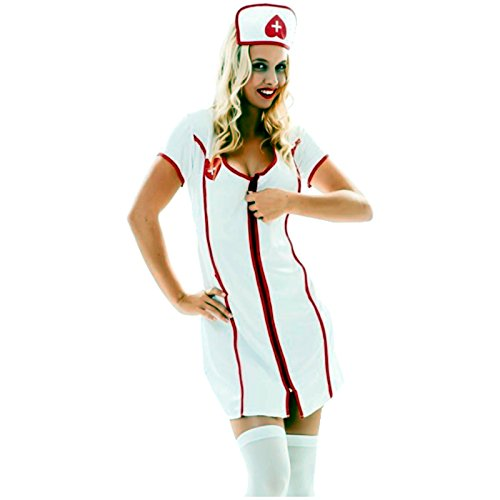 Oberschwester Kostüm - Spassprofi Kostüm sexie Krankenschwester Größe 38-40 Schwester Oberschwester