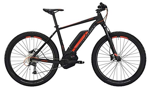 Conway EMC 227 SE 500 Herren E-Bike 500Wh E-Mountainbike Elektrofahrrad Black matt/orange 2019 RH 52 cm / 27,5 Zoll