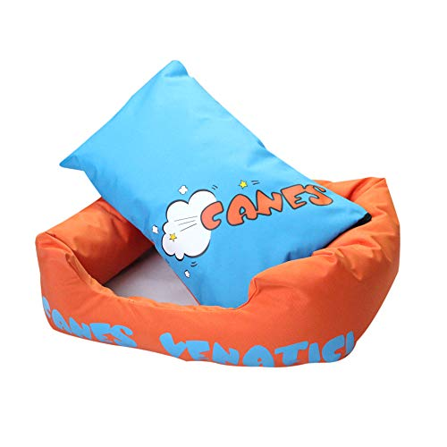 Remarkable Choostix Water Proof Reversable Printed Dog Lounger Bed Orange Large Gmtry Best Dining Table And Chair Ideas Images Gmtryco