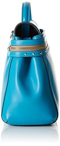 Twin-Set As7pw2, Sacs bandoulière Blu (Vivid Blue)