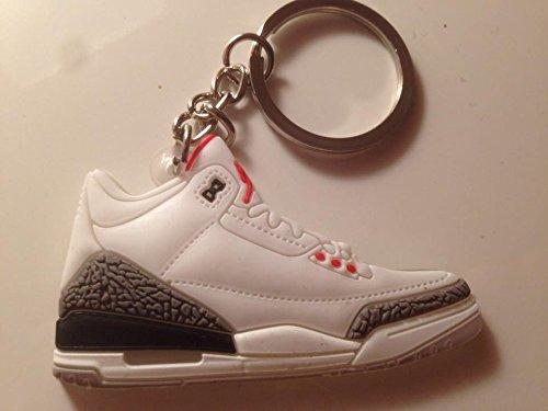 Air Jordan III Schlüsselanhänger 88 OG Sneaker Keychain 3