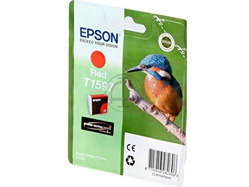 Preisvergleich Produktbild Epson Stylus Photo R 2000 (T1597 / C 13 T 15974010) - original - Tintenpatrone rot - 17ml