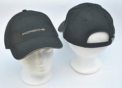 Porsche Cap Mütze schwarz mit Porsche Schriftzug