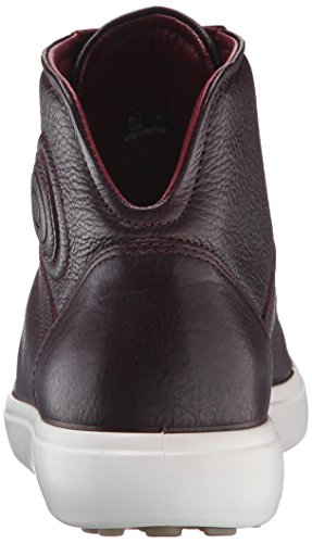 Ecco Damen Soft 7 Ladies High-Top Rot (BORDEAUX 1070)