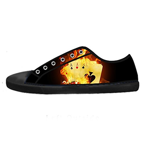 Dalliy regenbogen Men's Canvas shoes Schuhe Lace-up High-top Sneakers Segeltuchschuhe Leinwand-Schuh-Turnschuhe D