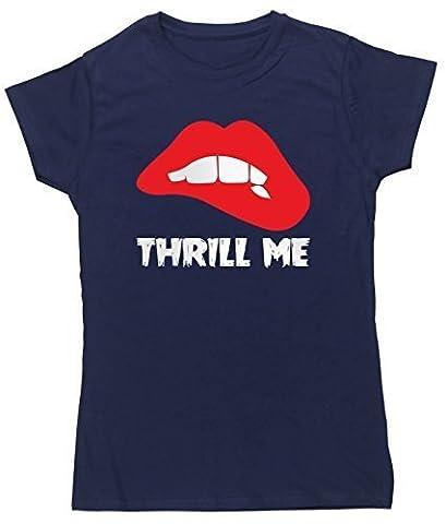 Rocky Horror Outfits - HippoWarehouse - T-Shirt - Femme - Bleu