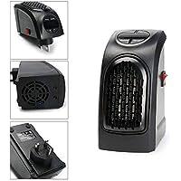Calentador Portátil Compacto Plug-In Digital Calefactor Eléctrico Con Pantalla LED 500W Mini Termostato