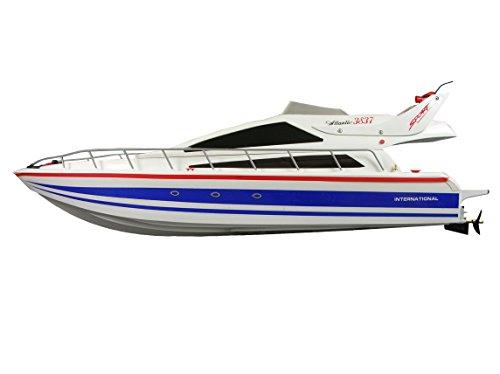 Preisvergleich Produktbild Amewi 26005 R/C Speedboot Yacht Atlantik inklusiv Fernbedienung, Fahrzeug