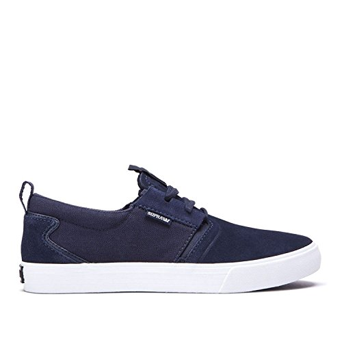 Scarpe Supra: Flow Black BK Navy - White