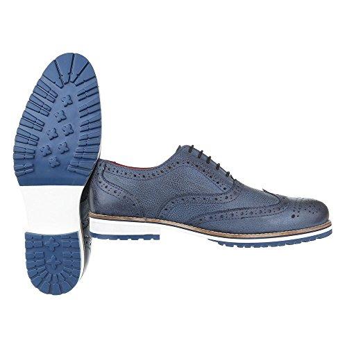 Ital-Design , Mocassins pour homme Bleu