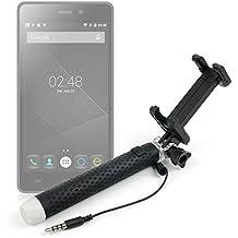 DURAGADGET Exclusivo Palo Selfie (Selfie-Stick) extensible para Smartphones Doogee LEO DG280 | X5 | 5 | X5 Pro
