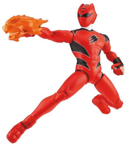 angers–30090–Figur–Riesige Geschenkkarte Jubiläumskarte Sonore–32cm–blau (Roten Jungle Fury Power Ranger)