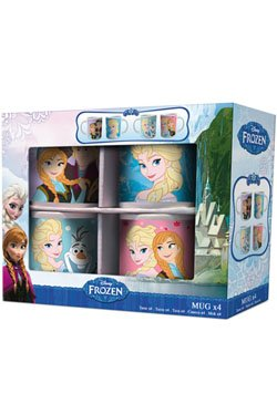 La Reine des neiges - Set de 4 mug