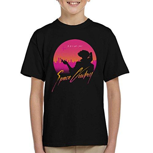 3 2 1 Lets Jam Cowboy Bebop Kid's T-Shirt (Jam 11 Kids Space)