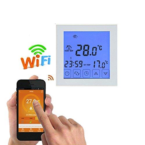 Elenxs Digital Wifi Wasser Fußbodenheizung Thermostat Programmierbare Temperaturregler